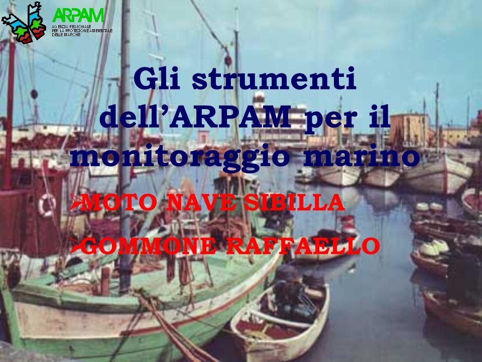 Gli strumenti dell'ARPAM per il monitoraggio marino