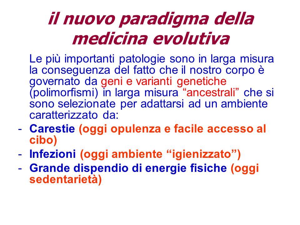 il nuovo paradigma della medicina evolutiva