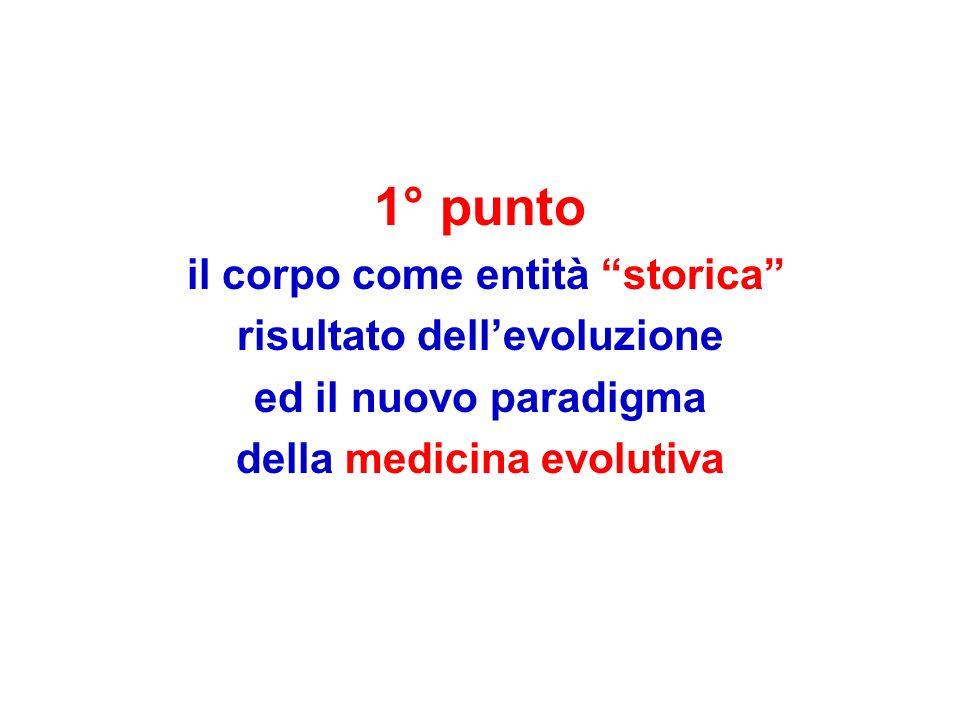 risultato dell'evoluzione della medicina evolutiva