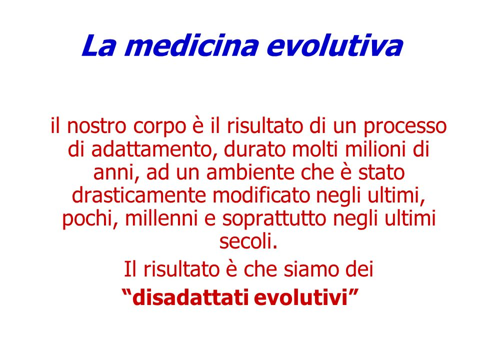 disadattati evolutivi