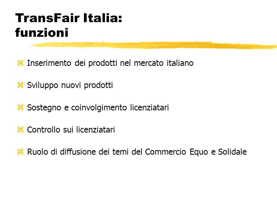 TransFair Italia: funzioni