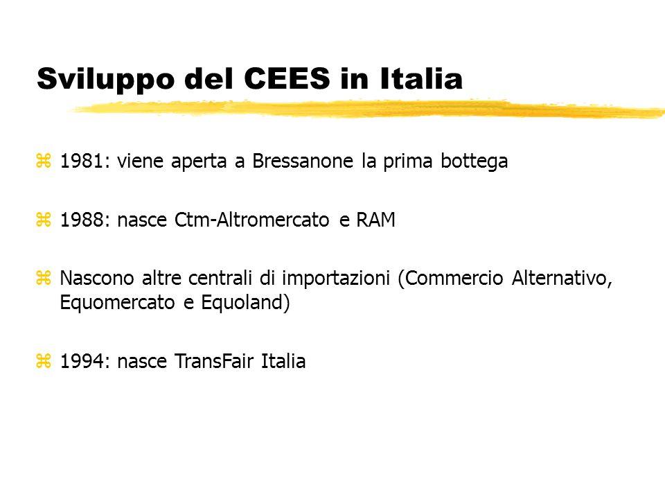 Sviluppo del CEES in Italia