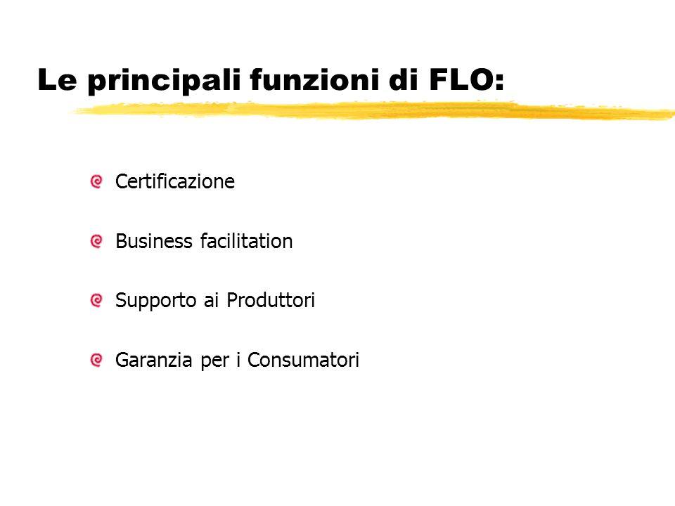 Le principali funzioni di FLO: