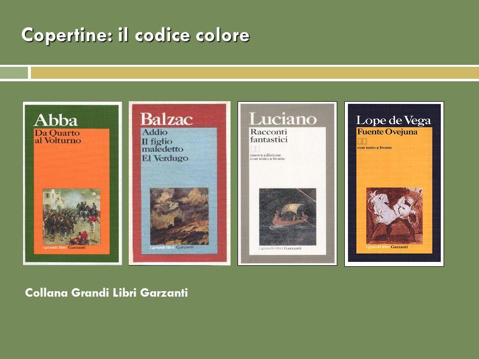 Copertine: il codice colore