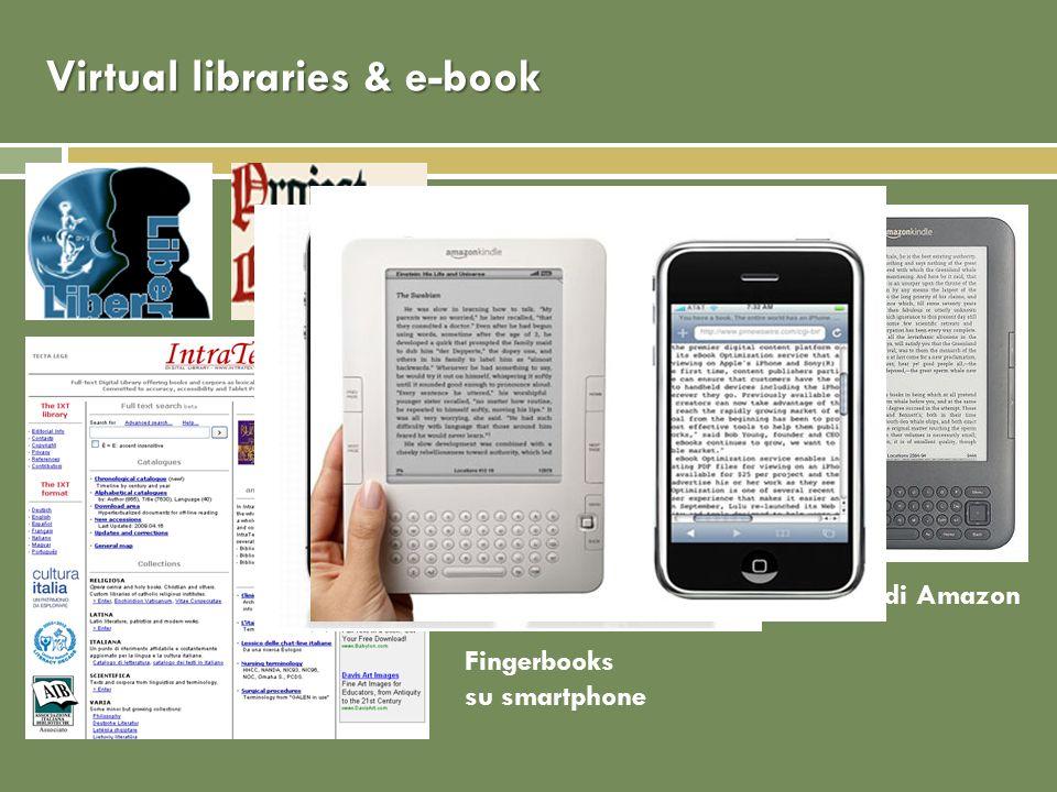 Virtual libraries & e-book