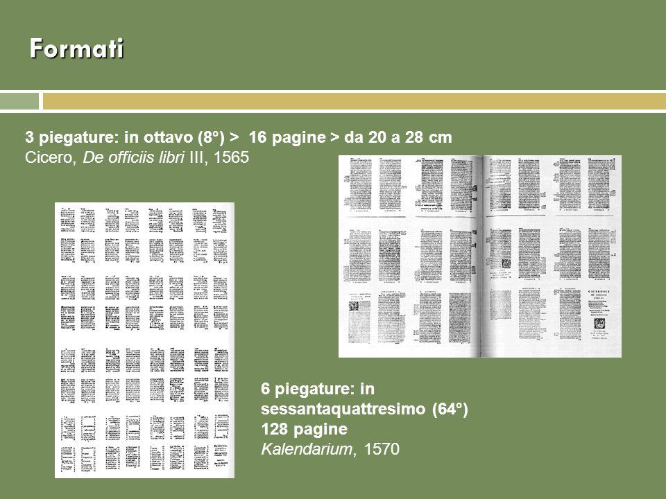 Formati 3 piegature: in ottavo (8°) > 16 pagine > da 20 a 28 cm