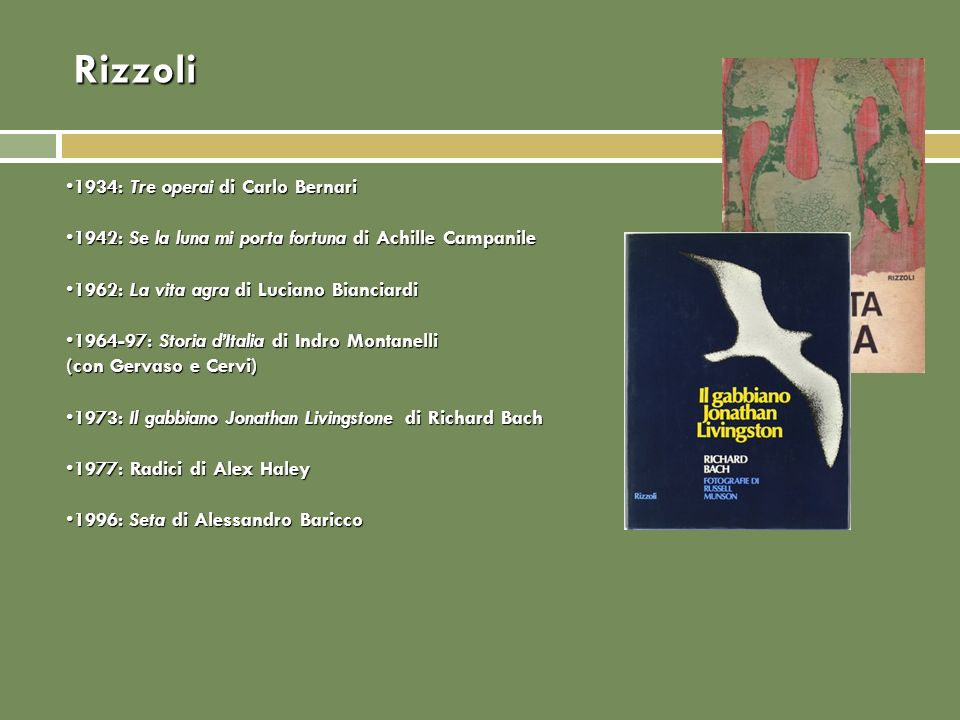 Rizzoli 1934: Tre operai di Carlo Bernari