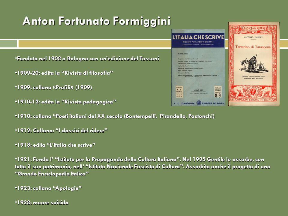 Anton Fortunato Formiggini