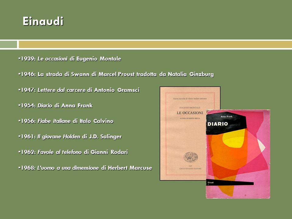 Einaudi 1939: Le occasioni di Eugenio Montale