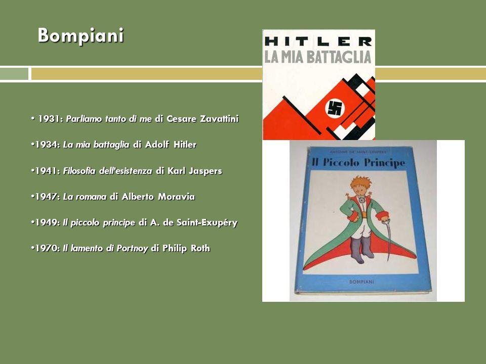 Bompiani 1931: Parliamo tanto di me di Cesare Zavattini