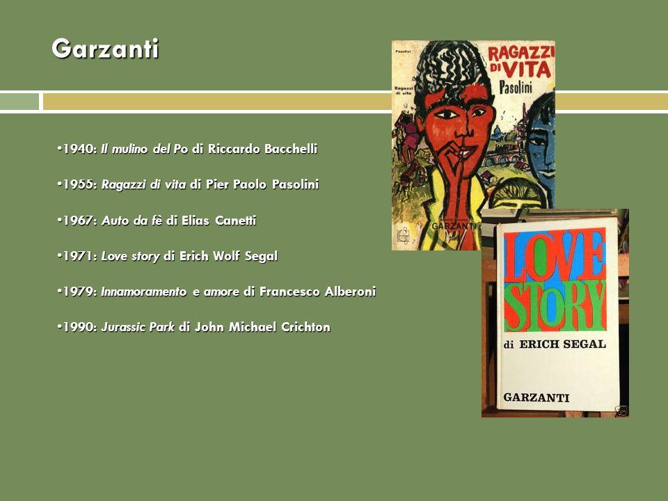 Garzanti 1940: Il mulino del Po di Riccardo Bacchelli