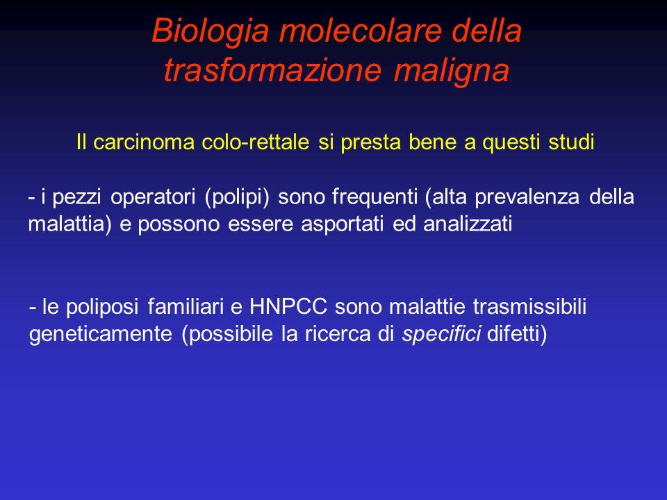Biologia molecolare della trasformazione maligna