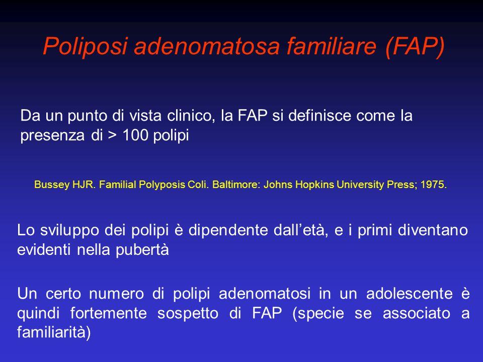 Poliposi adenomatosa familiare (FAP)