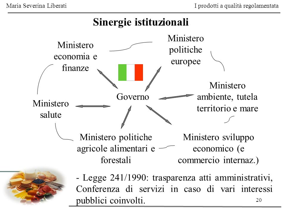 Sinergie istituzionali