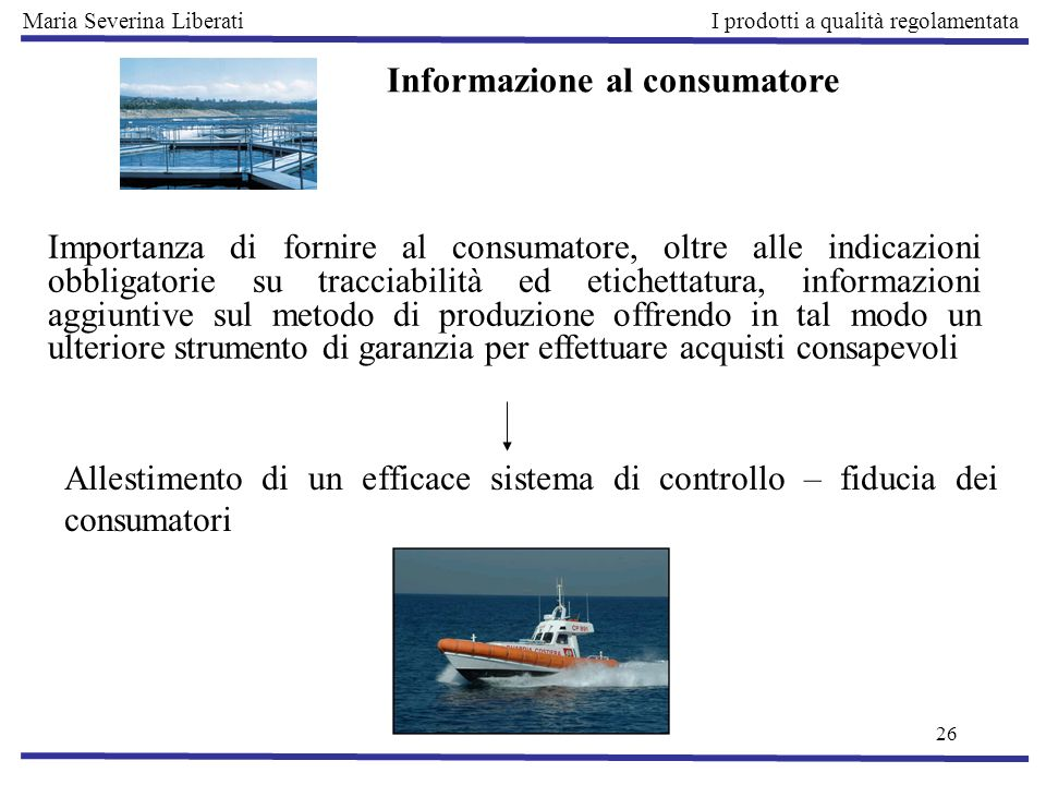 Informazione al consumatore