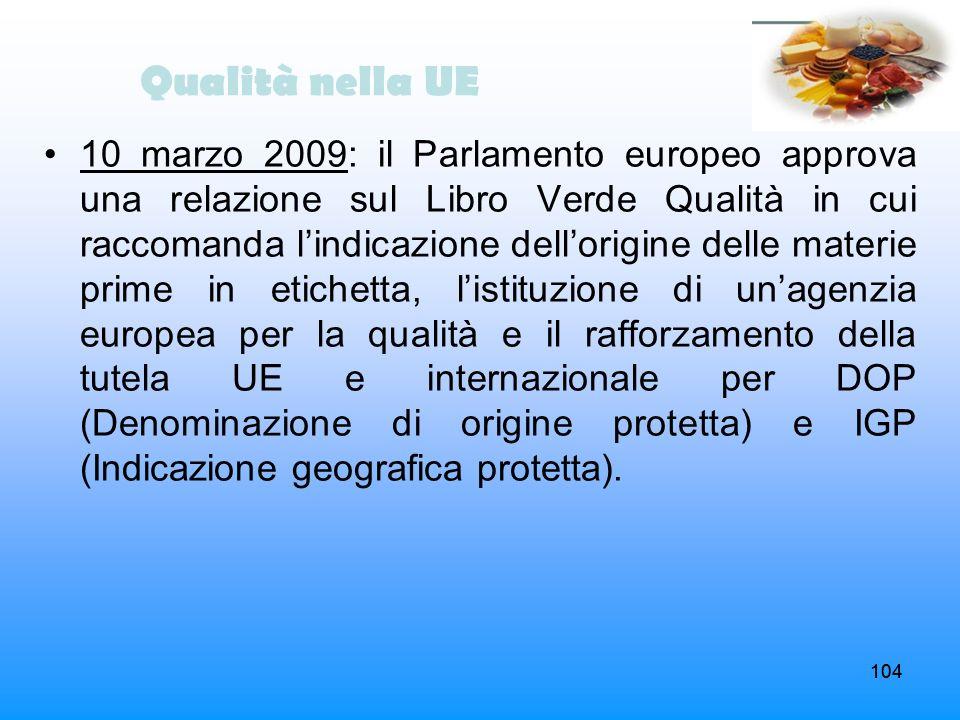 Qualità nella UE
