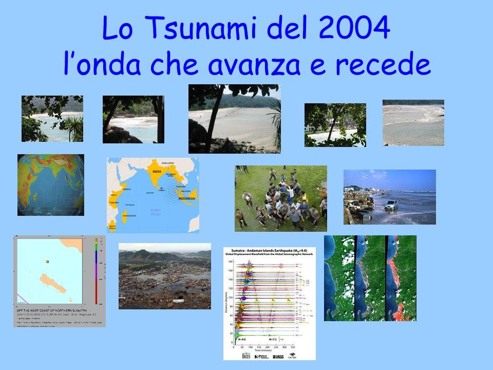 Lo Tsunami del 2004 l'onda che avanza e recede