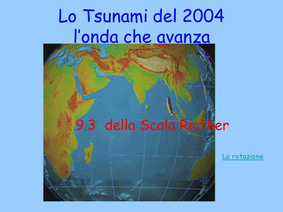 Lo Tsunami del 2004 l'onda che avanza