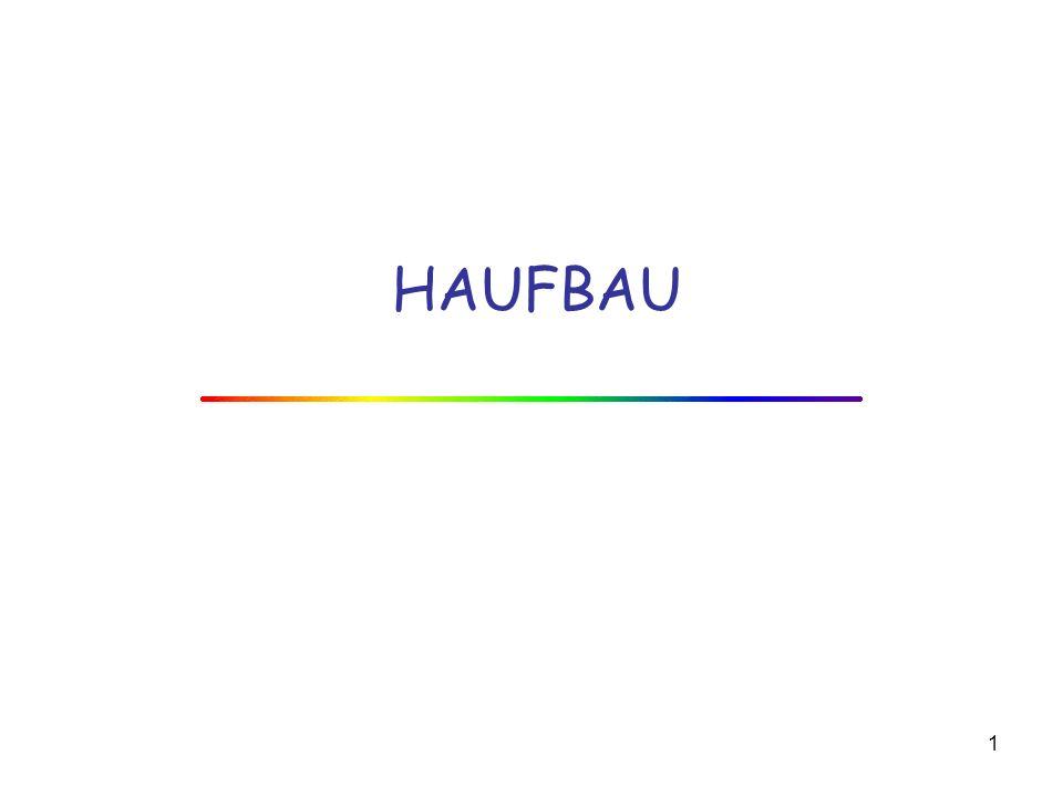 HAUFBAU