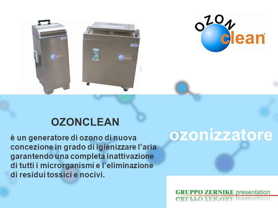 ozonizzatore OZONCLEAN