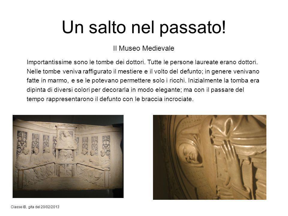Un salto nel passato! Il Museo Medievale