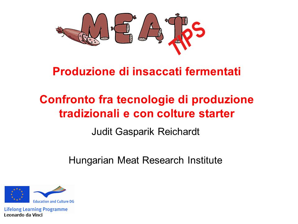 Judit Gasparik Reichardt Hungarian Meat Research Institute