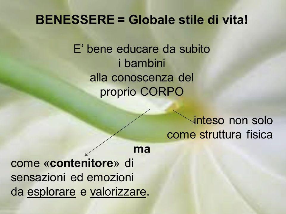 BENESSERE = Globale stile di vita!