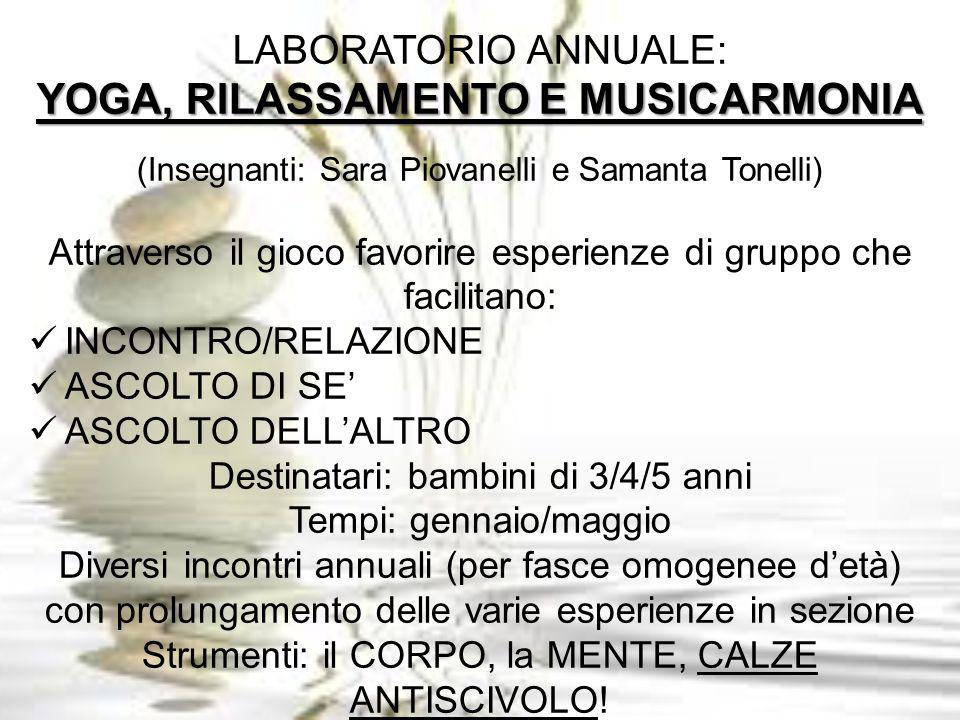 YOGA, RILASSAMENTO E MUSICARMONIA