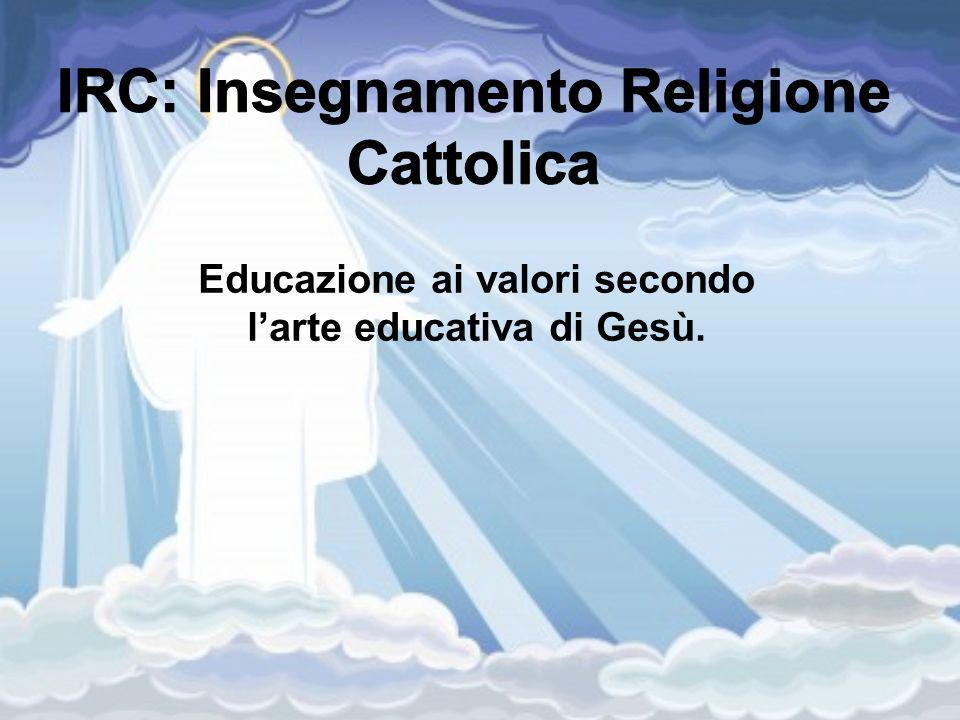 IRC: Insegnamento Religione Cattolica