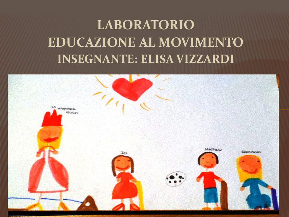 EDUCAZIONE AL MOVIMENTO INSEGNANTE: ELISA VIZZARDI
