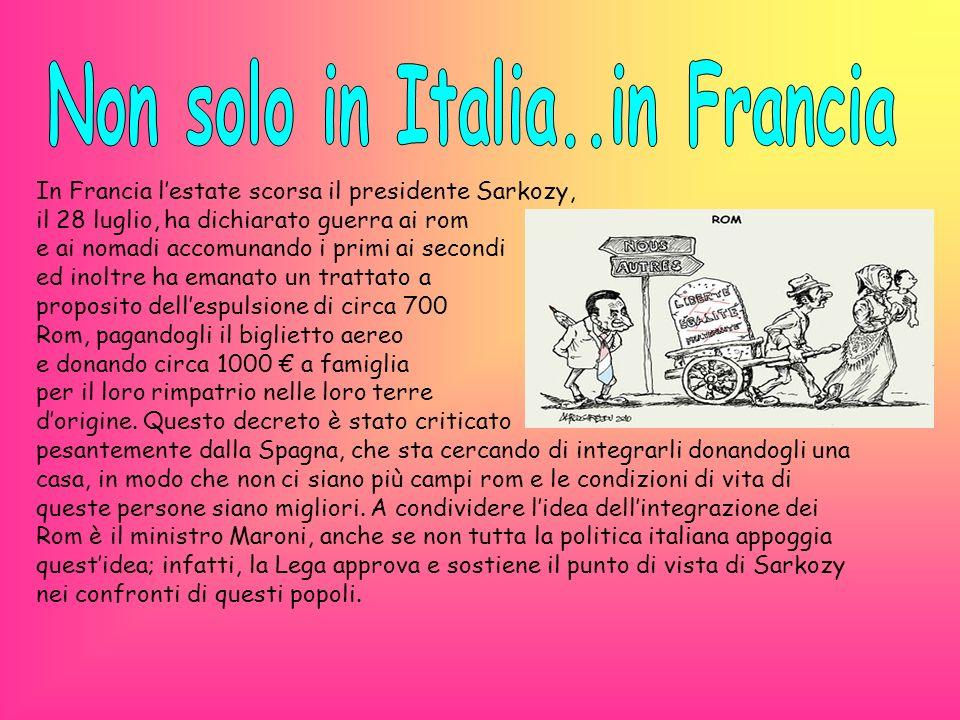 Non solo in Italia..in Francia