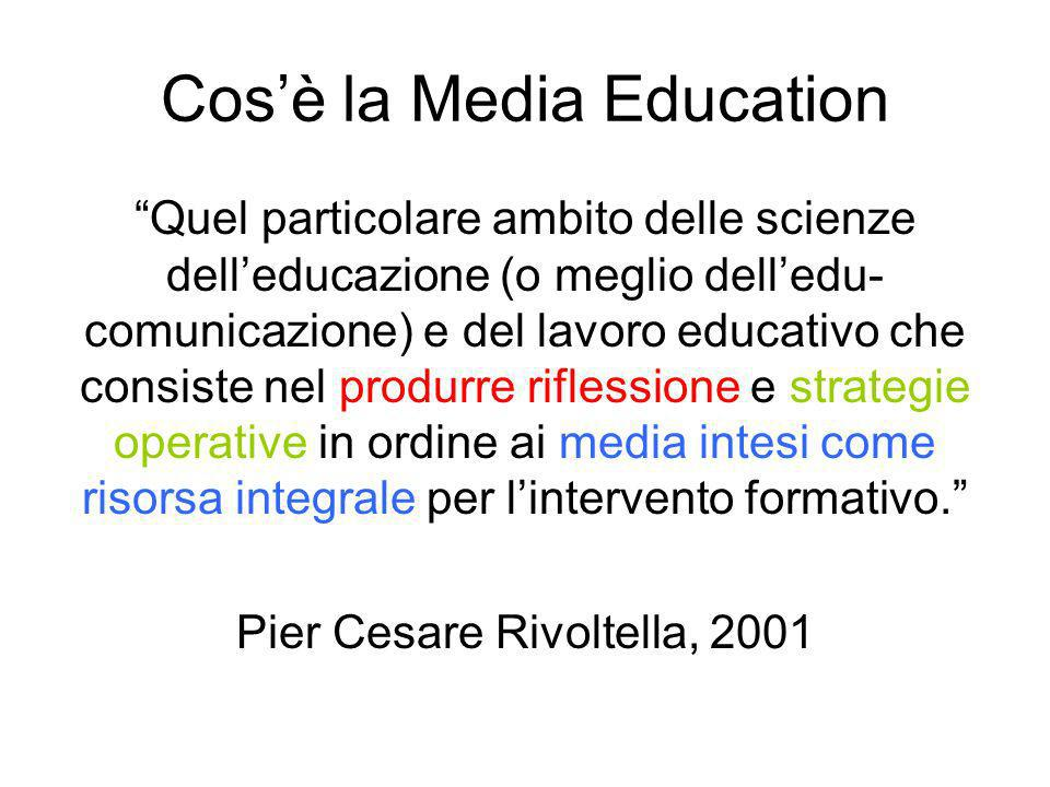 Cos'è la Media Education