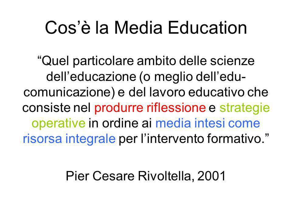 Cos'è la Media Education