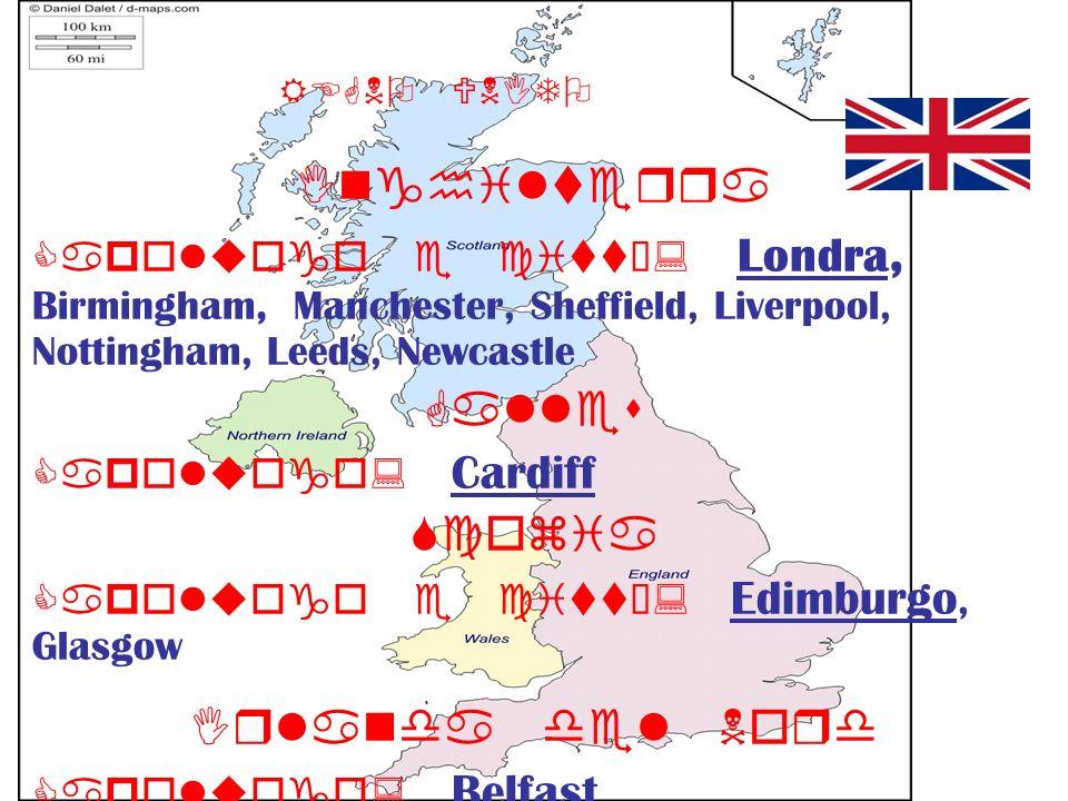 Inghilterra Galles Scozia Irlanda del Nord