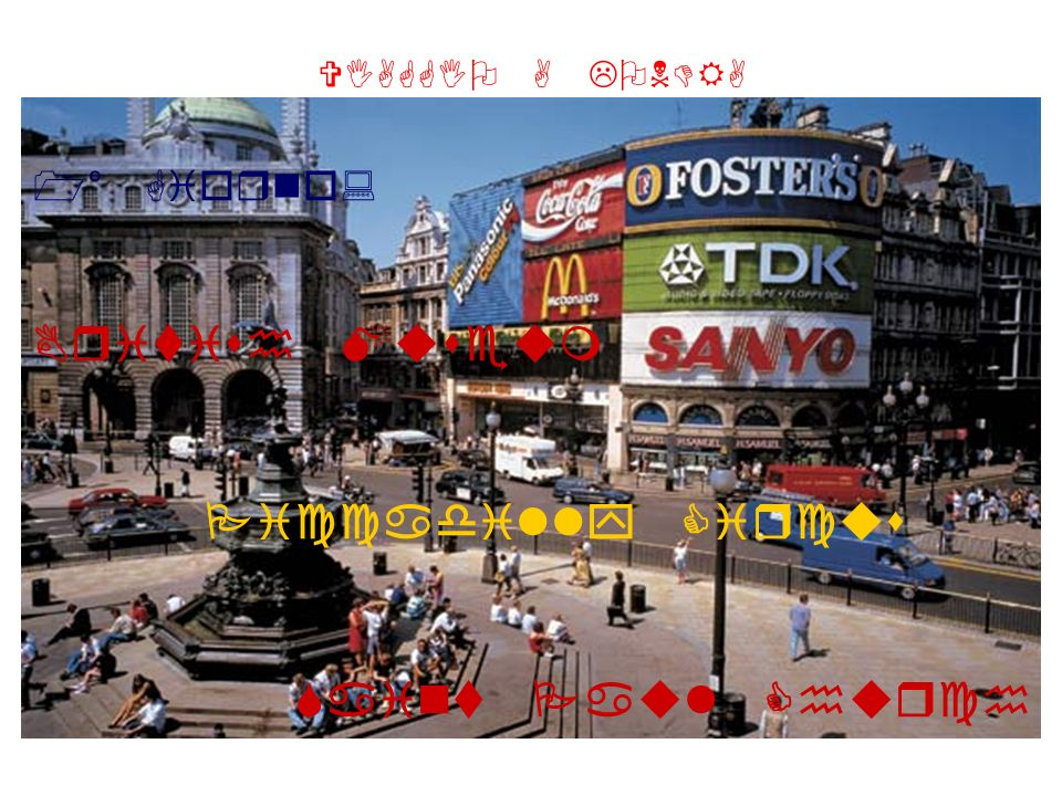 1° Giorno: British Museum Piccadilly Circus Saint Paul Church