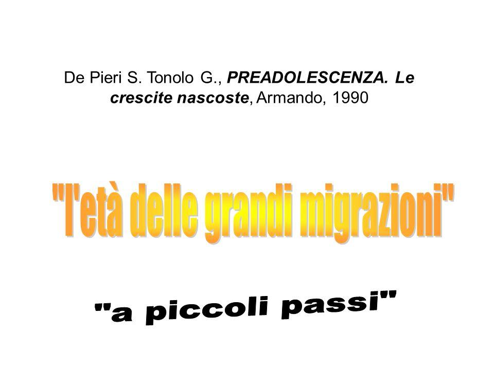 l età delle grandi migrazioni
