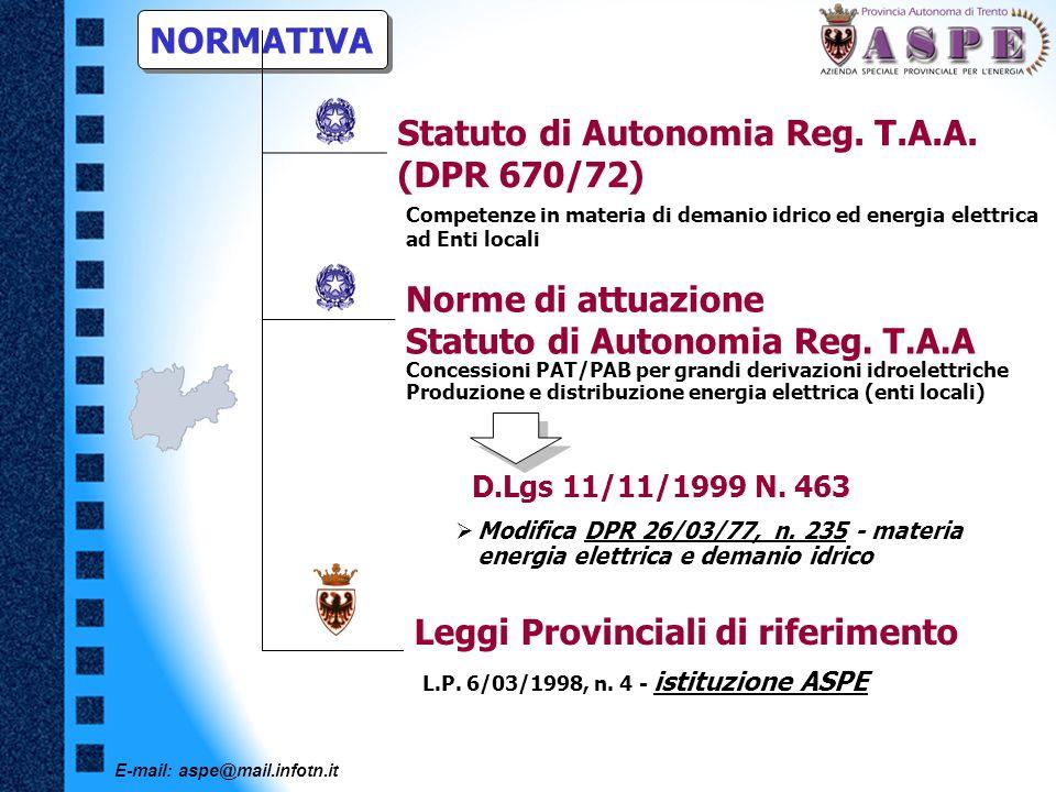 Statuto di Autonomia Reg. T.A.A. (DPR 670/72)