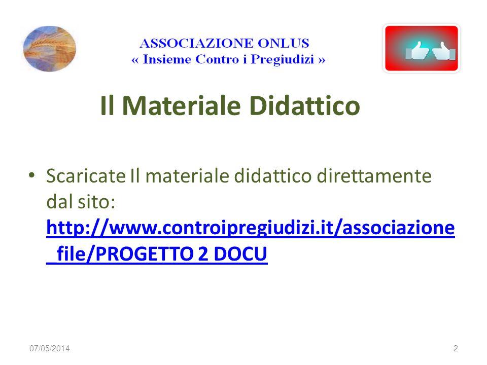 Il Materiale Didattico