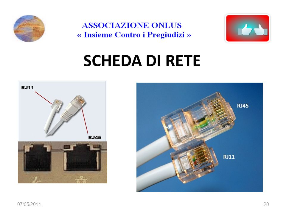 SCHEDA DI RETE 29/03/2017