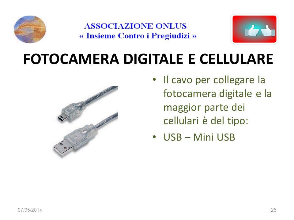 FOTOCAMERA DIGITALE E CELLULARE