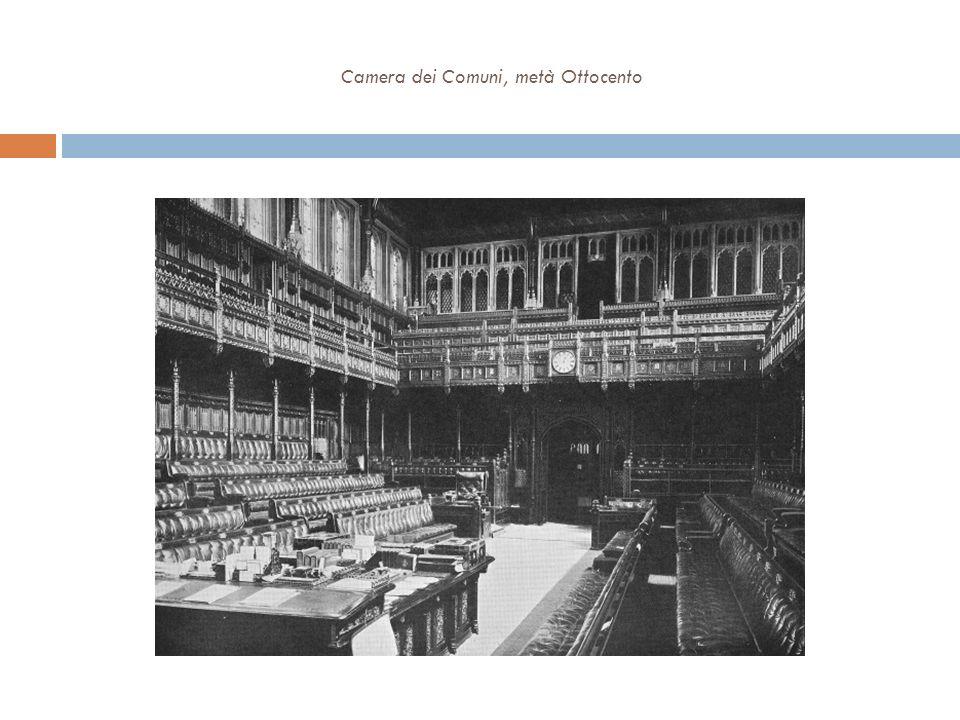 Camera dei Comuni, metà Ottocento