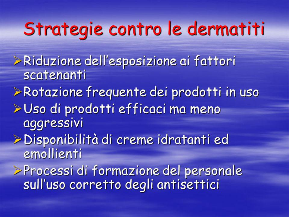 Strategie contro le dermatiti