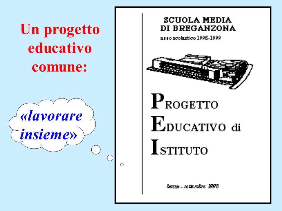 Un progetto educativo comune: