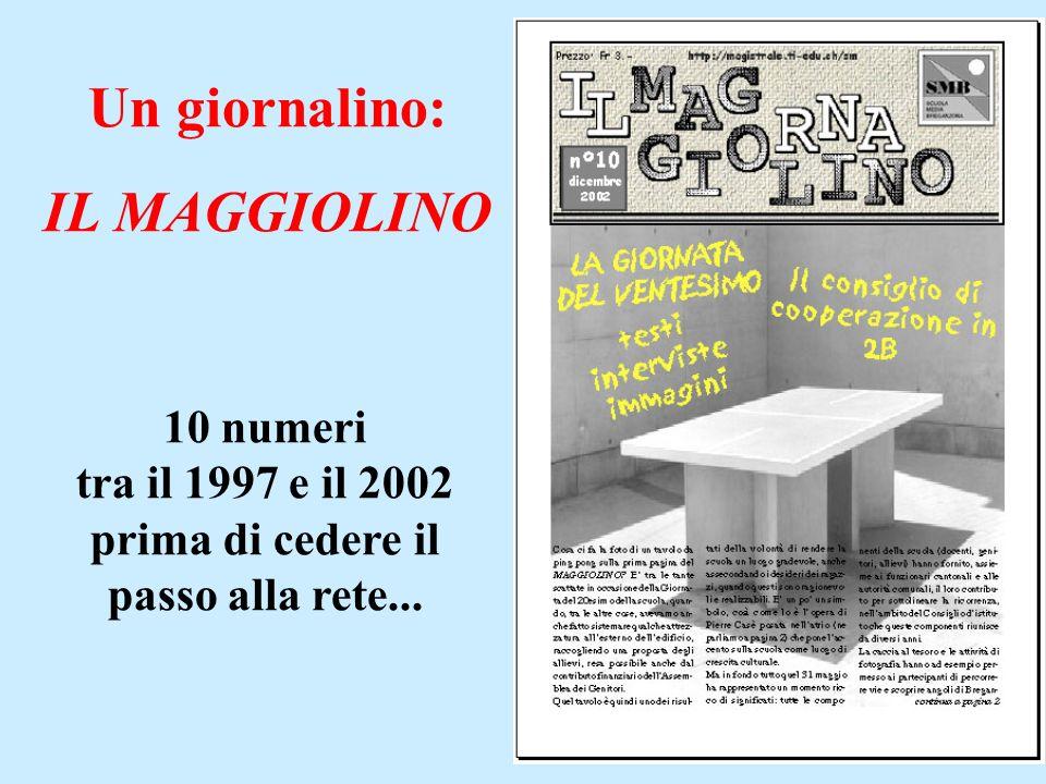 10 numeri tra il 1997 e il 2002 prima di cedere il passo alla rete...