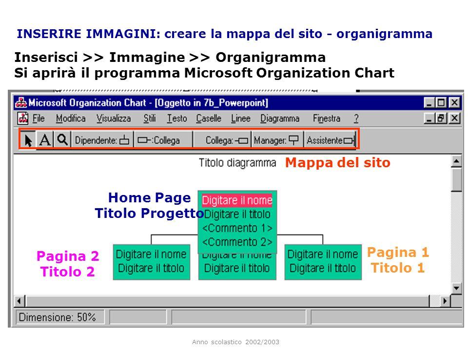 Home Page Titolo Progetto Pagina 1 Titolo 1 Pagina 2 Titolo 2