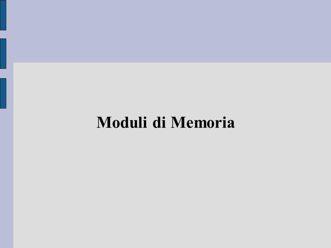 Moduli di Memoria