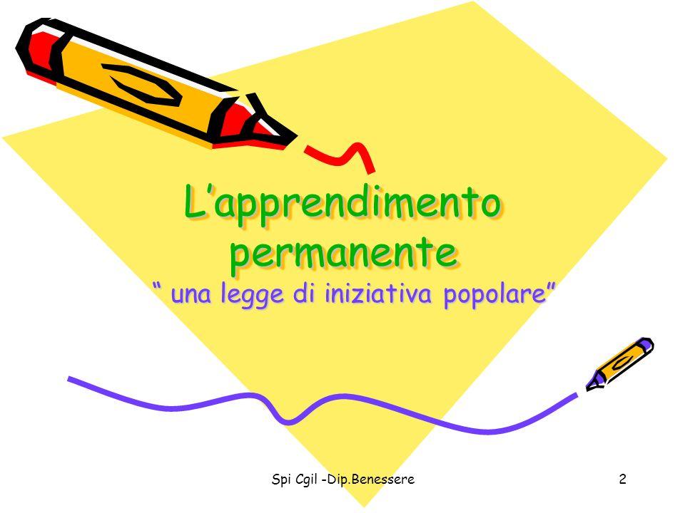 L'apprendimento permanente