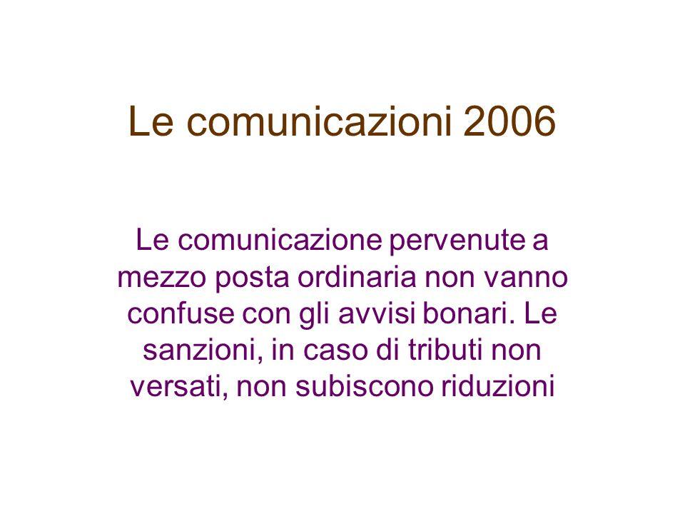 Le comunicazioni 2006