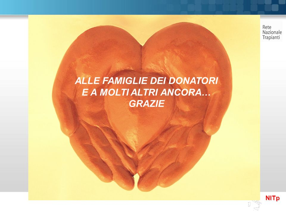 ALLE FAMIGLIE DEI DONATORI