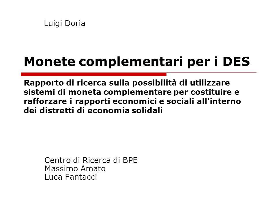 Centro di Ricerca di BPE Massimo Amato Luca Fantacci